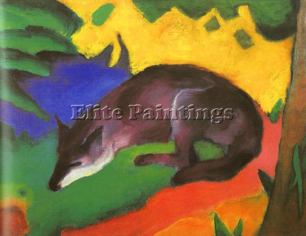 FRANZ MARC FMARC49 ARTIST PAINTING REPRODUCTION HANDMADE CANVAS REPRO WALL DECO