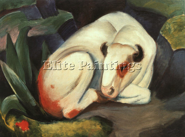 FRANZ MARC FMARC55 ARTIST PAINTING REPRODUCTION HANDMADE CANVAS REPRO WALL DECO