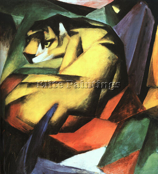 FRANZ MARC FMARC59 ARTIST PAINTING REPRODUCTION HANDMADE CANVAS REPRO WALL DECO