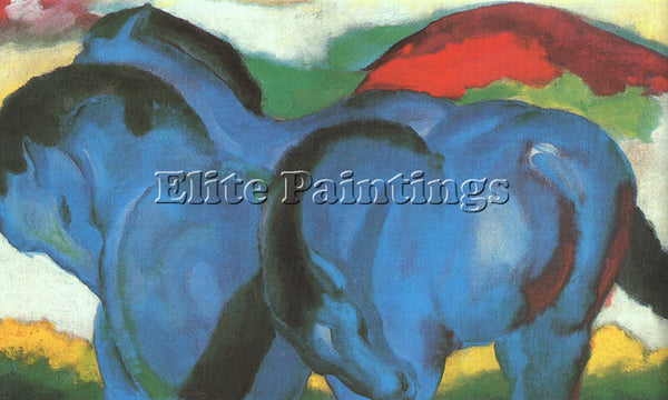 FRANZ MARC FMARC60 ARTIST PAINTING REPRODUCTION HANDMADE CANVAS REPRO WALL DECO
