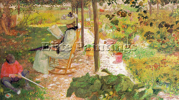 AMERICAN FRANZEN AUGUST AMERICAN 1863 1938 ARTIST PAINTING REPRODUCTION HANDMADE