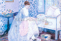 FREDERICK FRIESEKE PEACE ARTIST PAINTING REPRODUCTION HANDMADE CANVAS REPRO WALL