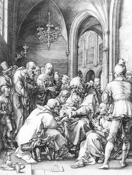 HENDRICK GOLTZIUS CIRCUMCISION IN THE CHURCH OF ST BAVO AT HAARLEM REPRODUCTION