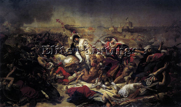 ANTOINE-JEAN GROS THE BATTLE OF ABUKIR ARTIST PAINTING REPRODUCTION HANDMADE OIL