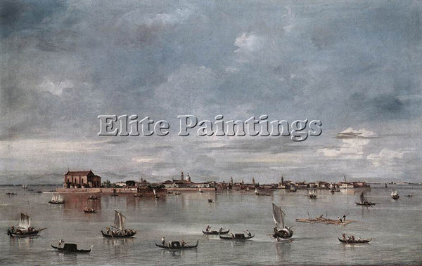GUARDI SAN CRISTOFORO SAN MICHELE AND MURANO SEEN FROM FONDAMENTA NUOVE PAINTING