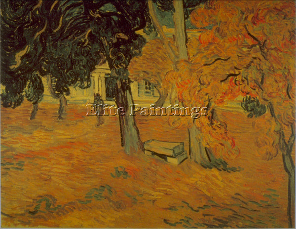 VAN GOGH GARDEN ARTIST PAINTING REPRODUCTION HANDMADE CANVAS REPRO WALL  DECO