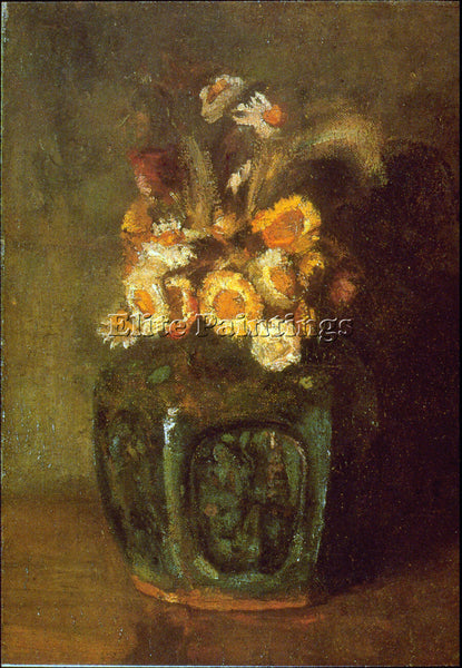VAN GOGH GINGER JAR ARTIST PAINTING REPRODUCTION HANDMADE CANVAS REPRO WALL DECO