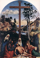 GIOVANNI BELLINI DEPOSITION ARTIST PAINTING REPRODUCTION HANDMADE OIL CANVAS ART