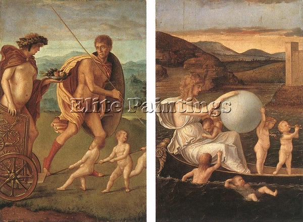 GIOVANNI BELLINI FOUR ALLEGORIES 1 ARTIST PAINTING REPRODUCTION HANDMADE OIL ART