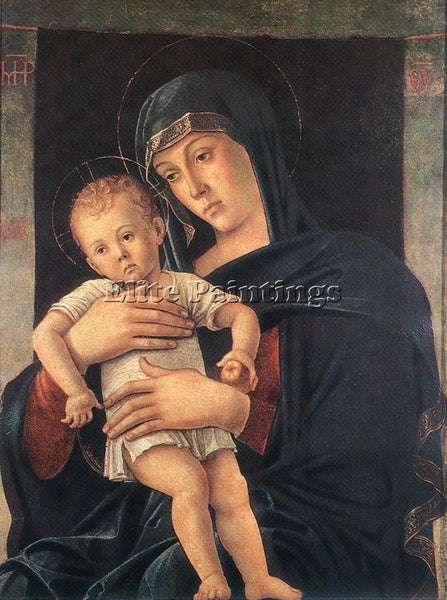 GIOVANNI BELLINI GREEK MADONNA ARTIST PAINTING REPRODUCTION HANDMADE OIL CANVAS