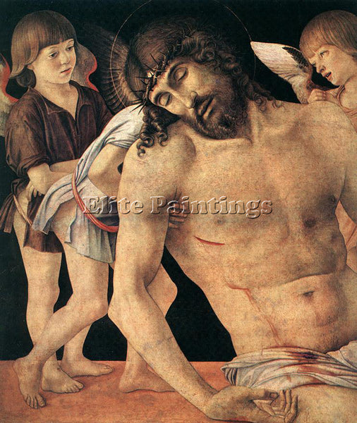 GIOVANNI BELLINI PIETA DET ARTIST PAINTING REPRODUCTION HANDMADE OIL CANVAS DECO