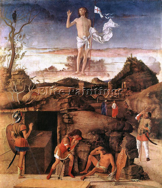 GIOVANNI BELLINI RESURRECTION OF CHRIST ARTIST PAINTING REPRODUCTION HANDMADE