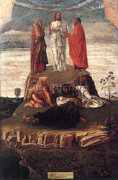 GIOVANNI BELLINI TRANSFIGURATION OF CHRIST ARTIST PAINTING REPRODUCTION HANDMADE