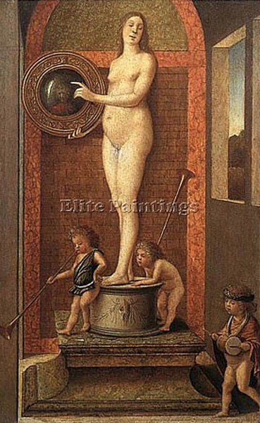 GIOVANNI BELLINI ALLEGORY ARTIST PAINTING REPRODUCTION HANDMADE OIL CANVAS REPRO