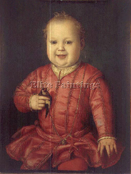 AGNOLO BRONZINO GIOVANNI DE MEDICI ARTIST PAINTING REPRODUCTION HANDMADE OIL ART