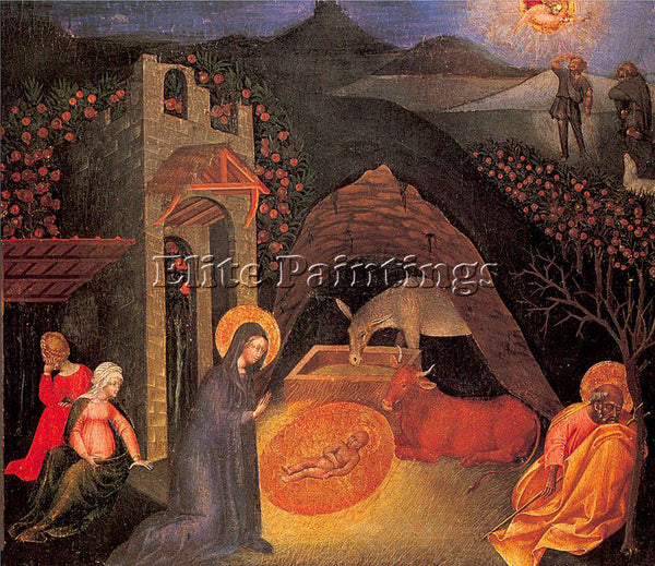 GIOVANNI DI PAOLO GDP2 ARTIST PAINTING REPRODUCTION HANDMADE CANVAS REPRO WALL