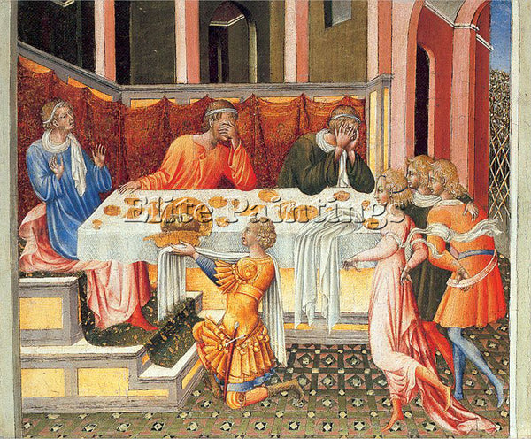 GIOVANNI DI PAOLO GDP4 ARTIST PAINTING REPRODUCTION HANDMADE CANVAS REPRO WALL