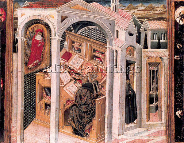 GIOVANNI DI PAOLO GDP6 ARTIST PAINTING REPRODUCTION HANDMADE CANVAS REPRO WALL