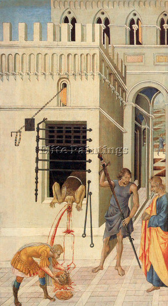 GIOVANNI DI PAOLO GDP7 ARTIST PAINTING REPRODUCTION HANDMADE CANVAS REPRO WALL