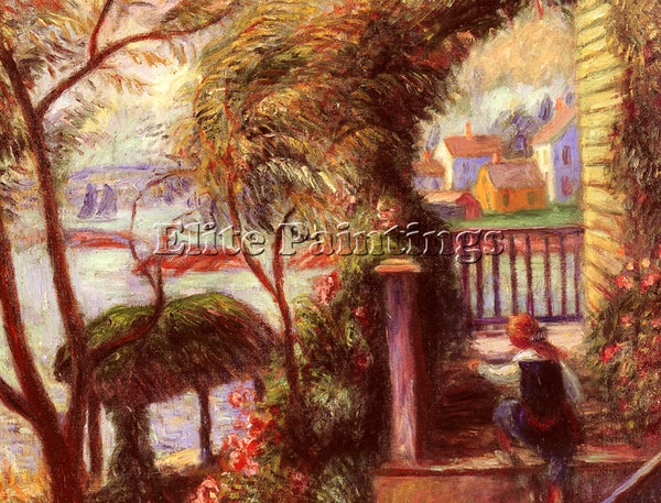 WILLIAM GLACKENS J EAST POINT GLOUCESTER ARTIST PAINTING REPRODUCTION HANDMADE