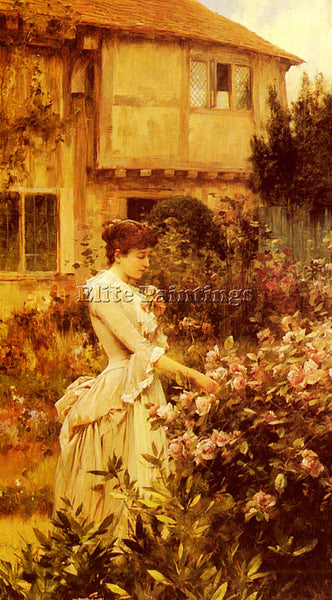 ALFRED GLENDENING A LABOUR OF LOVE ARTIST PAINTING REPRODUCTION HANDMADE OIL ART