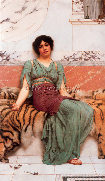 JOHN WILLIAM GODWARD SWEET DREAMS 1 ARTIST PAINTING REPRODUCTION HANDMADE OIL