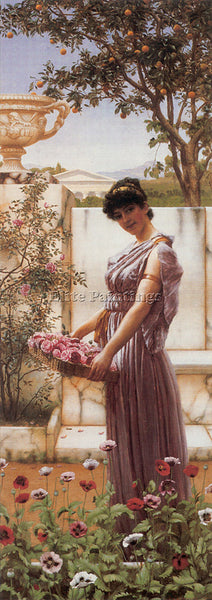 JOHN WILLIAM GODWARD THE FLOWERS OF VENUS 1890 ARTIST PAINTING REPRODUCTION OIL
