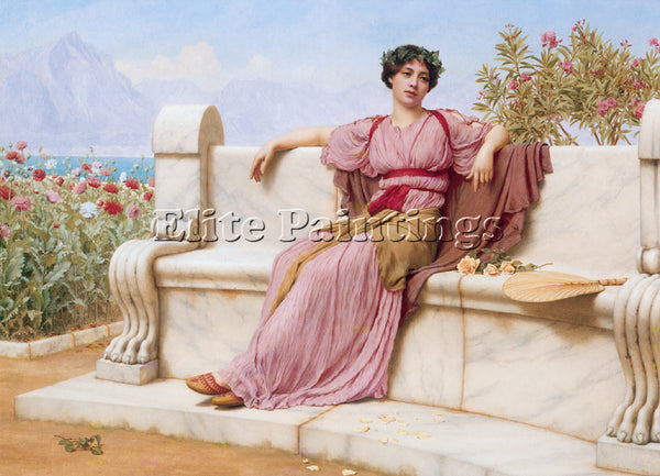 JOHN WILLIAM GODWARD TRANQUILLITY 1 ARTIST PAINTING REPRODUCTION HANDMADE OIL