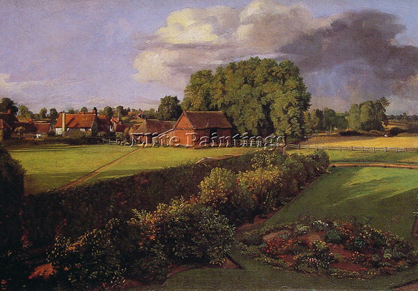 JOHN CONSTABLE GOLDING CONSTABLES FLOWER GARDEN ARTIST PAINTING REPRODUCTION OIL