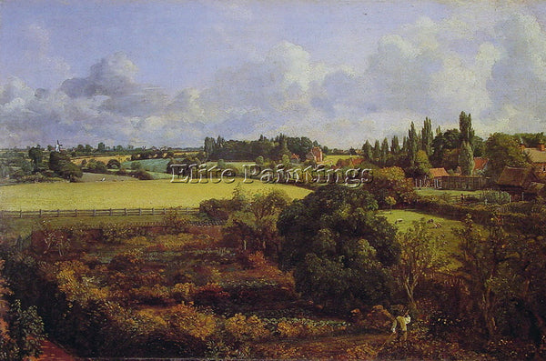 JOHN CONSTABLE GOLDING CONSTABLES KITCHEN GARDEN A ARTIST PAINTING REPRODUCTION