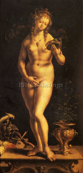 JAN GOSSAERT VENUS AND THE MIRROR ARTIST PAINTING REPRODUCTION HANDMADE OIL DECO