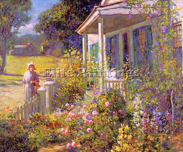 AMERICAN GRAVES ABBOTT FULLER AMERICAN 1859 1936 1 ARTIST PAINTING REPRODUCTION