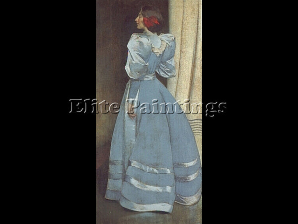 JOHN WHITE ALEXANDER GRAY PORTRAIT ARTIST PAINTING REPRODUCTION HANDMADE OIL ART