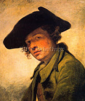 FRENCH GREUZE JEAN BAPTISTE FRENCH 1725 1805 ARTIST PAINTING HANDMADE OIL CANVAS