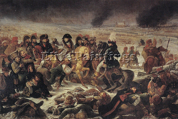 ANTOINE-JEAN GROS NAPOLEON ON THE BATTLEFIELD OF EYLAU ARTIST PAINTING HANDMADE