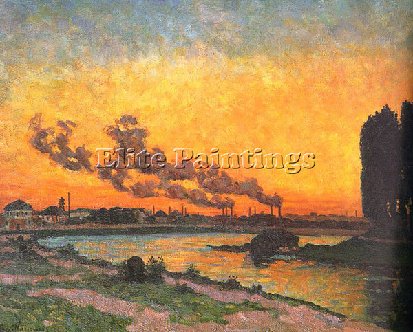FRENCH GUILLAUMIN J B ARMAND FRENCH 1841 1927 ARTIST PAINTING REPRODUCTION OIL