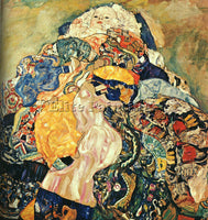 GUSTAV KLIMT KLIMT27 ARTIST PAINTING REPRODUCTION HANDMADE OIL CANVAS REPRO WALL