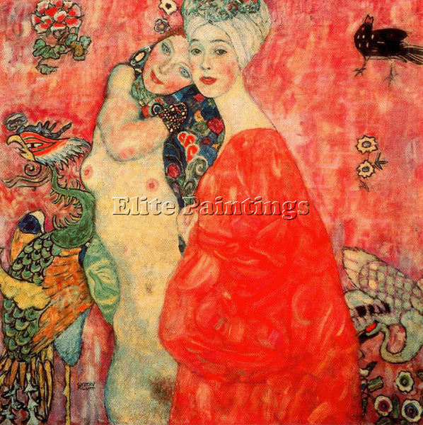 GUSTAV KLIMT KLIMT91 ARTIST PAINTING REPRODUCTION HANDMADE OIL CANVAS REPRO WALL