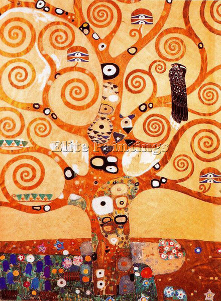 GUSTAV KLIMT KLIMT134 ARTIST PAINTING REPRODUCTION HANDMADE OIL CANVAS REPRO ART