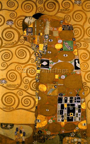 GUSTAV KLIMT KLIMT138 ARTIST PAINTING REPRODUCTION HANDMADE OIL CANVAS REPRO ART