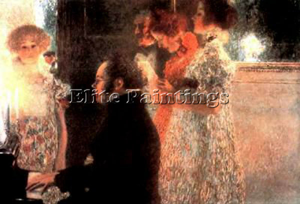 GUSTAV KLIMT KLIMT141 ARTIST PAINTING REPRODUCTION HANDMADE OIL CANVAS REPRO ART