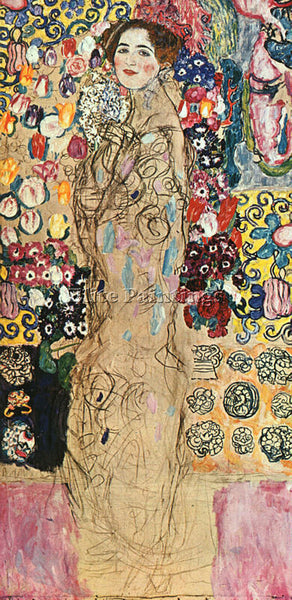 GUSTAV KLIMT KLIMT160 ARTIST PAINTING REPRODUCTION HANDMADE OIL CANVAS REPRO ART
