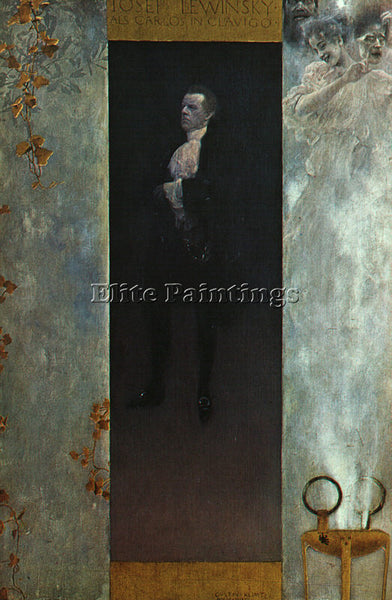 GUSTAV KLIMT KLIMT157 ARTIST PAINTING REPRODUCTION HANDMADE OIL CANVAS REPRO ART