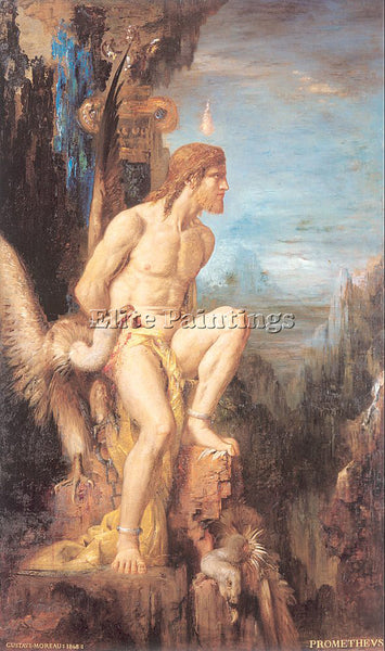 GUSTAVE MOREAU GM10 ARTIST PAINTING REPRODUCTION HANDMADE CANVAS REPRO WALL DECO