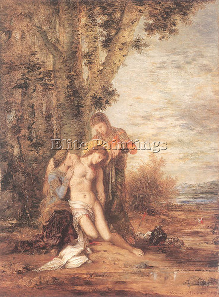 GUSTAVE MOREAU GM11 ARTIST PAINTING REPRODUCTION HANDMADE CANVAS REPRO WALL DECO