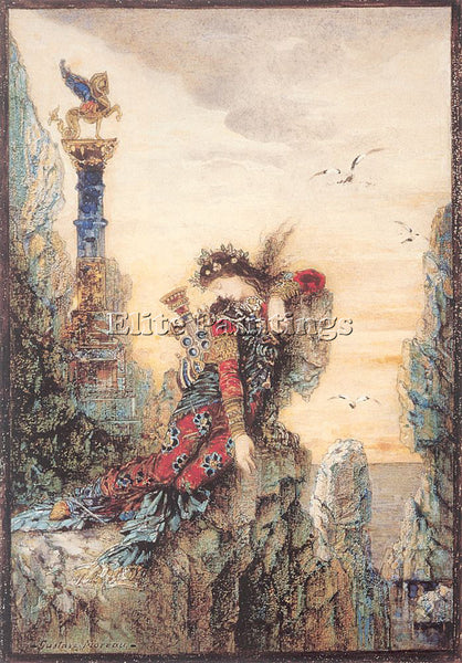 GUSTAVE MOREAU GM12 ARTIST PAINTING REPRODUCTION HANDMADE CANVAS REPRO WALL DECO