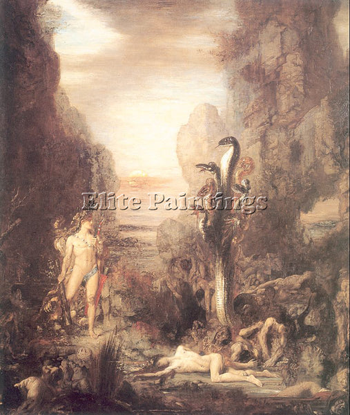 GUSTAVE MOREAU GM13 ARTIST PAINTING REPRODUCTION HANDMADE CANVAS REPRO WALL DECO