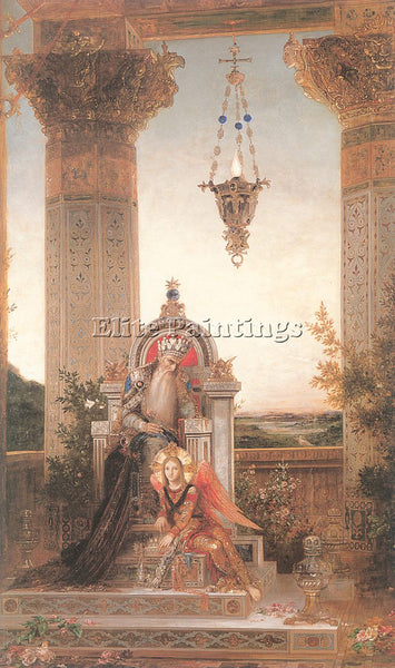 GUSTAVE MOREAU GM17 ARTIST PAINTING REPRODUCTION HANDMADE CANVAS REPRO WALL DECO
