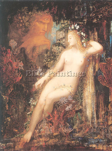 GUSTAVE MOREAU GM19 ARTIST PAINTING REPRODUCTION HANDMADE CANVAS REPRO WALL DECO