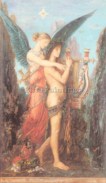GUSTAVE MOREAU GM1 ARTIST PAINTING REPRODUCTION HANDMADE CANVAS REPRO WALL DECO